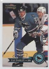 1995-96 Donruss #92 Ulf Dahlen San Jose Sharks Hockey Card