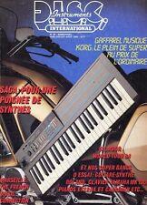 D.I.S.C. Instruments #80 -KORG POLY-100- Gaffarel Musique, Gilmour World Tour 84