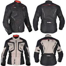 Oxford Ankara Mens Waterproof Motorcycle Jacket Touring Long W/ CE Protectors