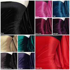 Premium Steam Velvet Craft Fabric Velour Stretch Material 150cm Wide RM157