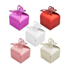 50 Pieces Wedding Favour Boxes Bridal Showers Parties Gift Bags Table Decoration