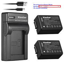 Kastar Battery Slim USB Charger for Panasonic DMW-BMB9 Panasonic Lumix DMC-FZ70