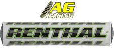Renthal Supercross Bar Pad 10 inch/254mm White/green