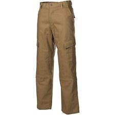 MFH ACU Pantalones Ripstop Hombres Combatir Ejército Militar Airsoft Coyote Tan