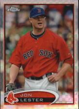 2012 Topps Chrome X-Fractors Baseball Card Pick