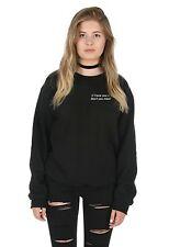 I Love You Don't You Mind Sweater Top Jumper Sweatshirt Tumblr 1975 Matt Healy