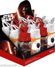 Botella Star Wars Original Disney de aluminio 500 ml Dart Fener R2-D2 BB-8