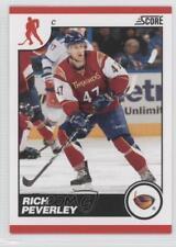 2010-11 Score #57 Rich Peverley Atlanta Thrashers Hockey Card