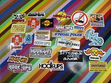 vtg 1990s 2000s Hook-Ups skateboards sticker - logos and non-girl graphics
