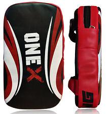 Strike Pad Real Leather Double Handle Kick Boxing Training Pad Kick Shield