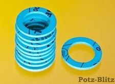 10 Stück Solardichtung Edelstahlwellrohr Flachdichtung Klingersil DN8 - DN50