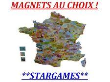 LE GAULOIS MAGNET AIMANT DEPART'AIMANTS + DEPARTEMENTS COLLECTION CHOISSISSEZ