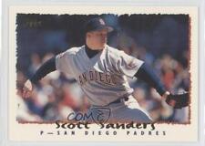 1995 Topps #33 Scott Sanders San Diego Padres Baseball Card