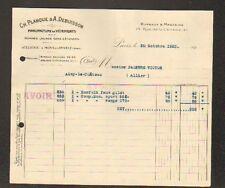 """PARIS IV°: USINE de MONS-en-PEVELE (59) VETEMENTS """"Ch. PLANQUE & A. DEBUISSON"""""""