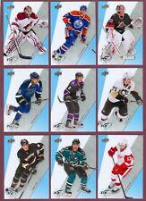 2010-11 UPPER DECK ICE NHL HOCKEY CARD 1 TO 60 SEE LIST