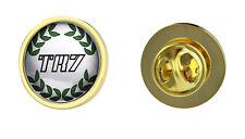Triumph TR7 Green Wreath Logo Clutch Pin Badge Choice of Gold/Silver