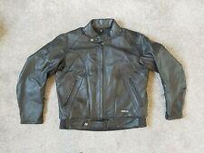 Nitro Racing X-Force Motorcycle Black Leather Jacket Size 38 CLEARANCE