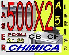CHIMICA AUTOCOPIANTE CB CF X STAMPA LASER INKJET A5