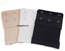 3 éléments de 3 crochets Mesdames soutien-gorge Bra Sangle Extension Extender Sous-vêtements Bustier