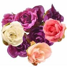 5 x Deko Rose / Rosenblüte / Rosenkopf ca. 2,5 cm, verschiedene Farben Farbwahl