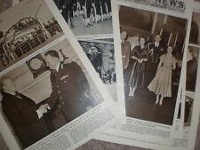 Article Marshall Tito Yugoslavia visit to Britain 1953