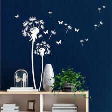 wandtattoo pusteblume pollen schmetterlinge 10551 dekoration aufkleber dandelion