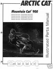 2004 ARCTIC CAT MOUNTAIN CAT 900 PARTS MANUAL