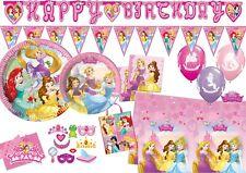 Disney Princess Decorations Tableware Party Supplies Balloons