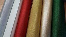Glitter Craft Felt - 100% Polyester Felt Fabric - Various Sizes - 90cm Wide