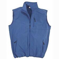 Männer Softshell-Weste in royalblau von marc&mark in Übergrößen von 2XL bis 10XL