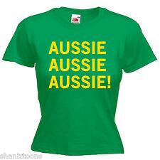 Australia Day Australian Slogan Ladies Lady Fit T Shirt 13 Colours Size 6 - 16
