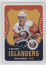 2010-11 O-Pee-Chee Retro Blank Back #BLCO Blake Comeau New York Islanders Card
