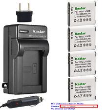 Kastar Battery AC Charger for Olympus Li-50B LI-50C & Stylus 9000 Stylus 9010