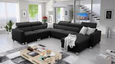 Ecksofa mit Schlaffunktion Wohnlandschaft Pico Polstersofa Couch XXL Sofa 26