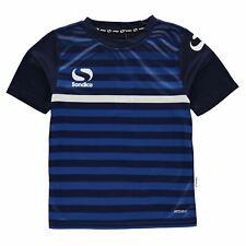 Sondico Homme T-Shirt Haut Col Rond Manche Courte Décontracté Sports