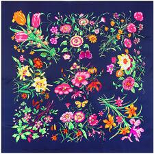 "Women's Fashion Floral Printed Hijab Big Twill Square Scarf 5 New Arrival51""*51"""