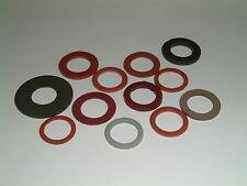 "Imperial fibra Rondelle 33/64 ""e 17/32"" I / D'S. 11 diverse taglie"