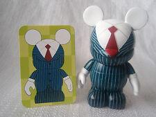 "Disney Vinylmation Occupations BUSINESSMAN BUSINESS SUIT 3"" Mickey Mouse Figure"
