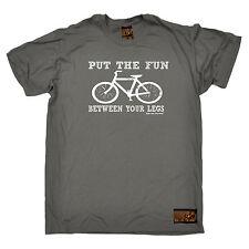 Fun Between Your Legs MENS RLTW T-SHIRT tee cycling cyclist bicycle birthday