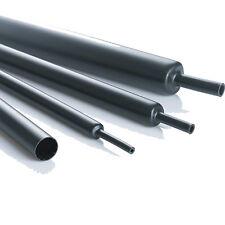 HEAT SHRINK nero 76.2 mm TUBO MANICOTTO rapporto 2:1, TUBI Heatshrink Sleeving wire
