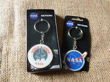 PORTACHIAVI in metallo da collezione della NASA. NASA Crew/SPACE CAMP.