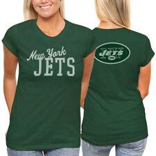 Women s New York Jets NFL Junk Food Premium T-Shirt - Top - Green - 4c338f2f9