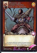 Carte de jeu D'aprés la BD LANFEUST DE TROY 71/150 Dragons des Gardes d'Eckmul