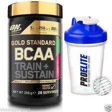 NUEVO Optimum Nutrition Oro Estándar BCAA 266g Aminoácidos + COCTELERA GRATIS