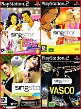 Sony PS2/3 SINGSTAR Französische Lieder Auswahl: Pop Hits 1,2 ,Orginal, 80
