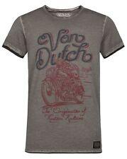Von Dutch [The cédant/Oil Wash] T-Shirt Motard Harley Rockabilly Van Tatouage I