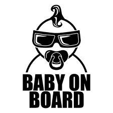 BABY ON BOARD AUFKLEBER Sticker Auto Fahrzeug Kind Junge Boy Deko Car KFZ Tuning
