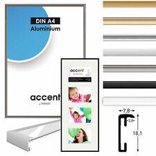 ACCENT aluminum frame, aluminum caddy, Picture Frames aluminum, 5 different colo