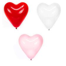 Trendario Herzluftballons, Helium Herz Luftballons, für Valentinstag Hochzeit