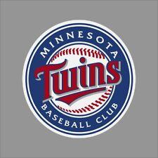 Minnesota Twins #2 MLB Team Logo Vinyl Decal Sticker Car Window Wall Cornhole